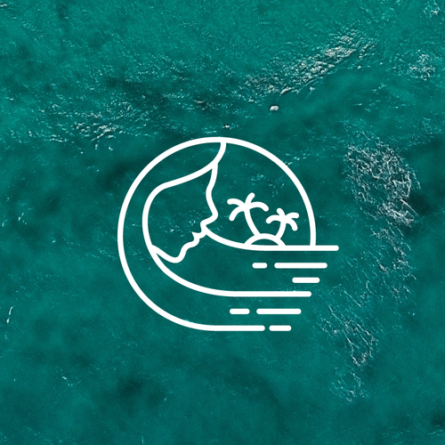 Goddess logo with the title 'Ocean Goddess'