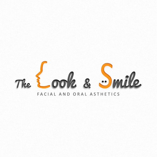 Look design with the title 'Logo concept for Dentistry and Cosmetic Procedures'