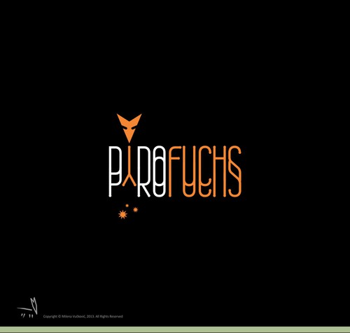 Spark design with the title 'Pyrofuchs'