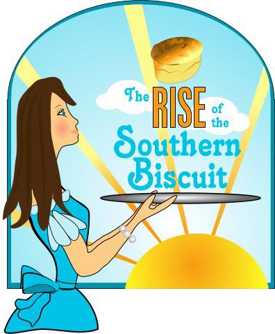 Asymmetrical logo with the title 'New logo wanted for The Rise of the Southern Biscuit'