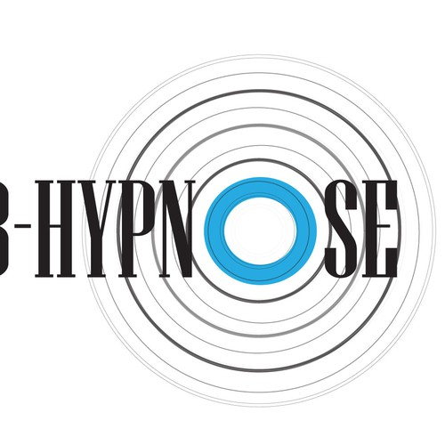 Hypnosis logo with the title 'Cab-hypnose: Practice for Hypnosis Therapy- Calling card design'