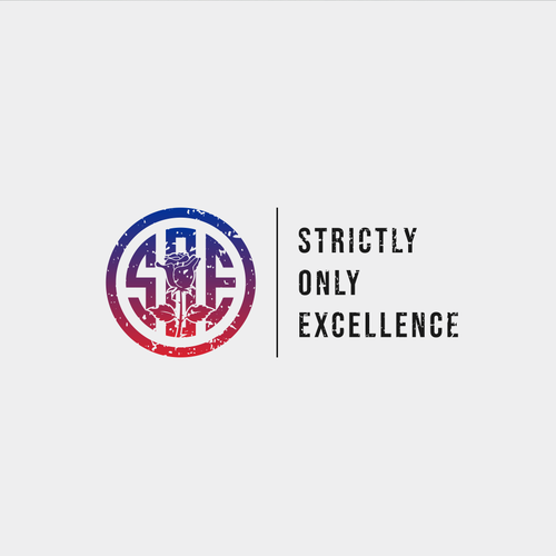 Cloth design with the title 'Strictly Only Excellence'
