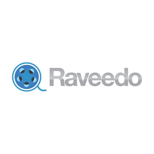 Reel design with the title 'Challenge your imagination - Create Raveedo Logo'