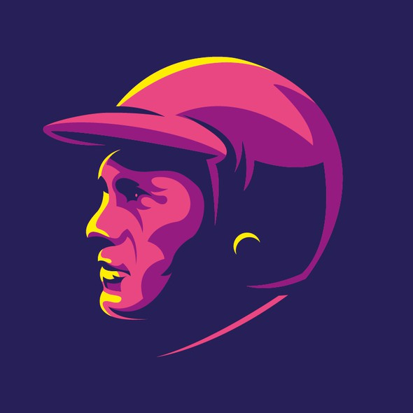 Colorful artwork with the title 'Steve McQueen'