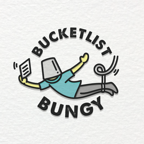 Blog logo with the title 'BUCKETLIST BUNGY'