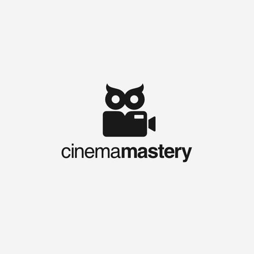 Cinema logo with the title 'Cinema Mastery'