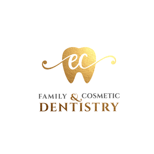 Dental brand with the title 'Family & Cosmetic Dentistry'