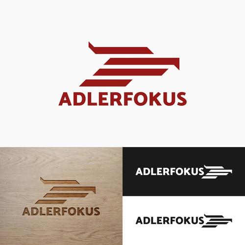 Focus logo with the title 'AdlerFokus Logo Design'