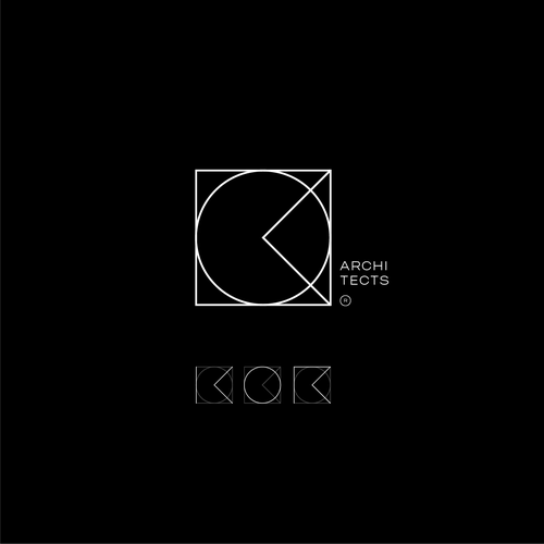 Letter design with the title 'KOR'