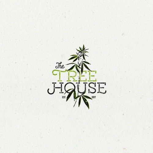 Tree house design with the title 'Logo for The Tree House'