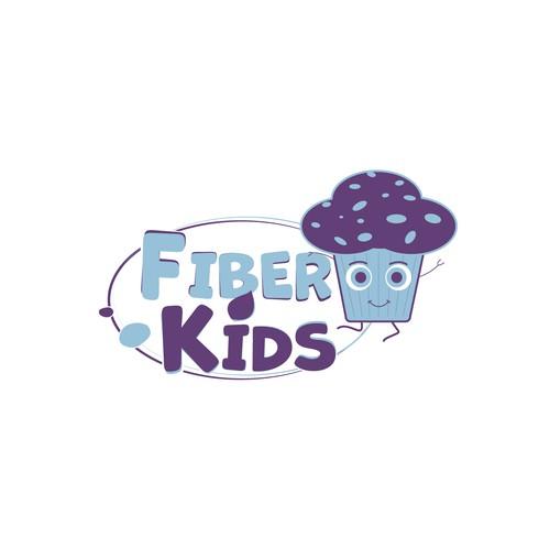 Fiber design with the title 'Fiber Kids'