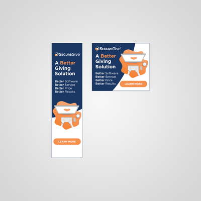Secure Give - Banner Ad Set