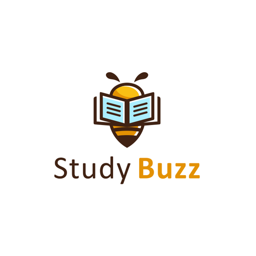 Creative design logo with the title 'Fun yet serious logo needed for new study-game mobile app'