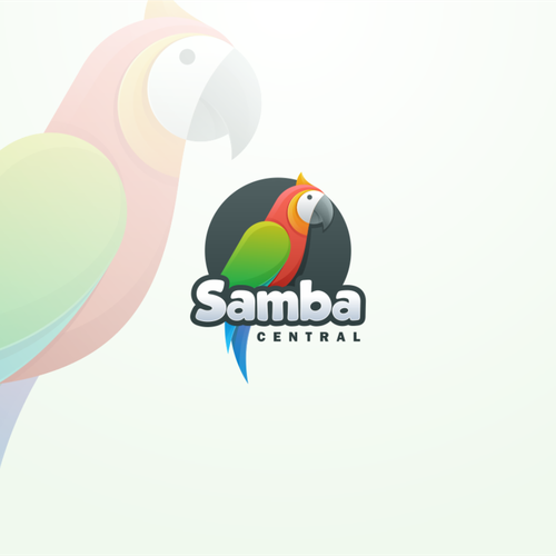 Brazilian design with the title 'Colorful design for online retail/marketing Samba Central'