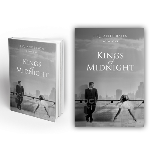 Love design with the title 'Kings of midnight'
