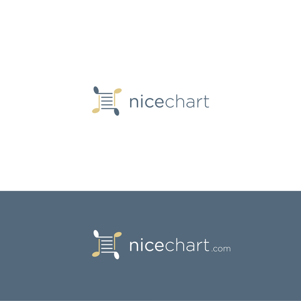 Sheet logo with the title 'Logo for customizable sheet music website'