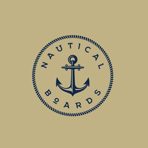 Naval logo with the title 'Anchor Logo'