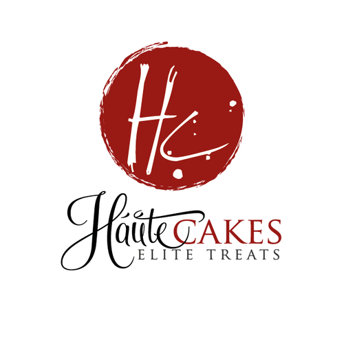 Urban logo with the title 'artistic cake and bakery logo'