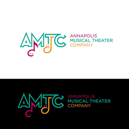Comedy logo with the title 'Logo for musical theater'
