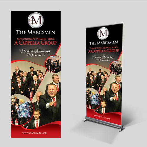 Wow design with the title 'Marcsmen Singers looking for a forever designer!'