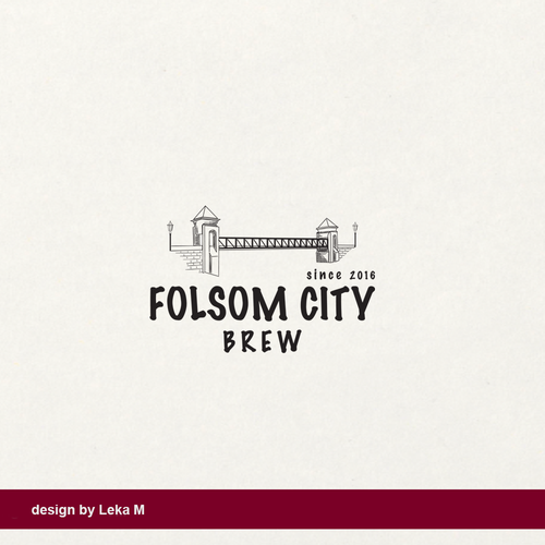 California logo with the title 'Folsom City Brew'