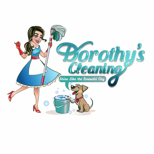 Sparkle logo with the title 'Logo for cleaning company'