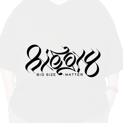 """Calligraphy brand with the title 'Ambigram logo """"Biegxy""""'"""
