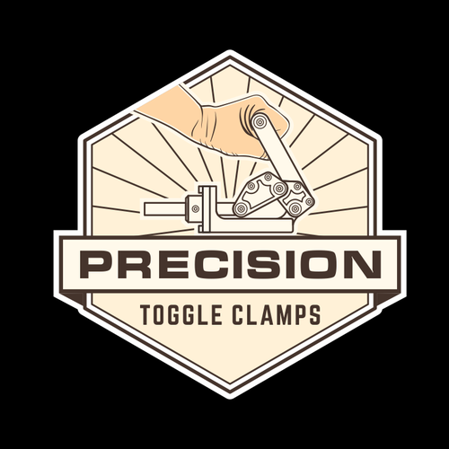 Masculine brand with the title 'Precision logo'