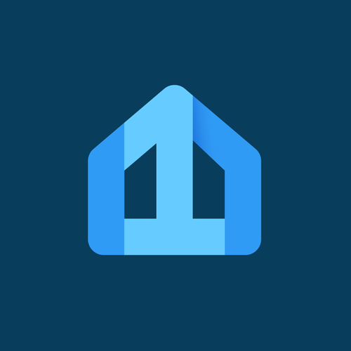 Modern logo with the title 'First Trust Homes'