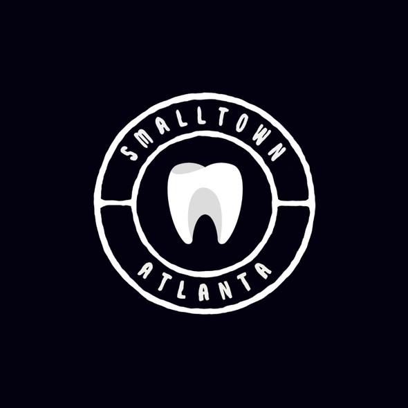 Atlanta design with the title 'Smalltown Dental Atlanta'