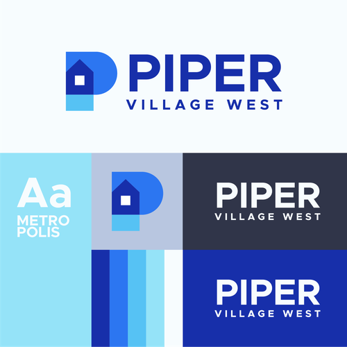 P logo with the title 'PIPER Village West'