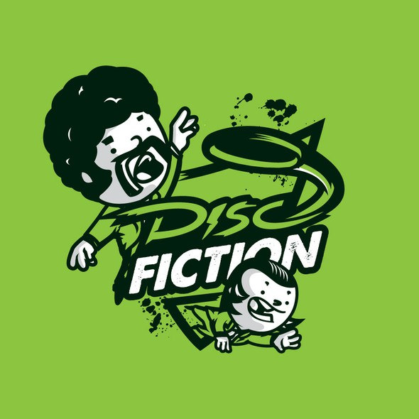 Ultimate logo with the title 'Disco Fiction'
