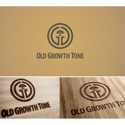 Speaker logo with the title 'Logo design for Old Growth Tone'
