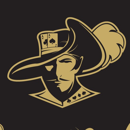 Poker logo with the title 'Musketeer'