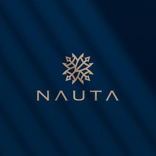 Trident logo with the title 'NAUTA logo'