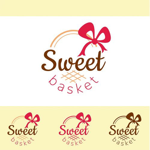 Basket logo with the title 'Logo for sweet and chocolate shop'