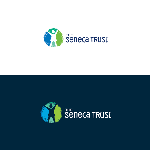 Help logo with the title 'The Seneca Trust'