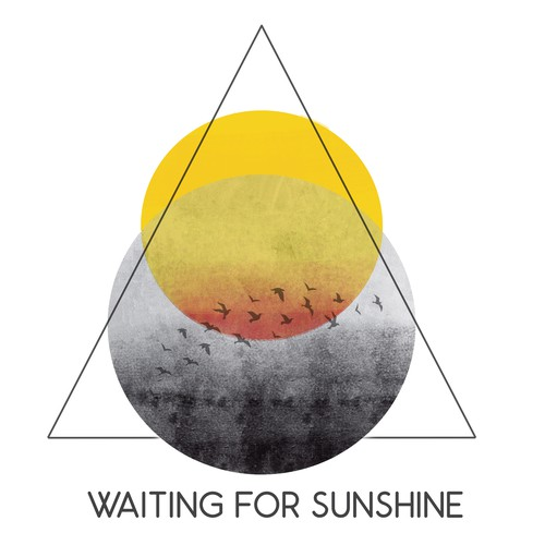 Sun illustration with the title 'Waiting for sunshine'