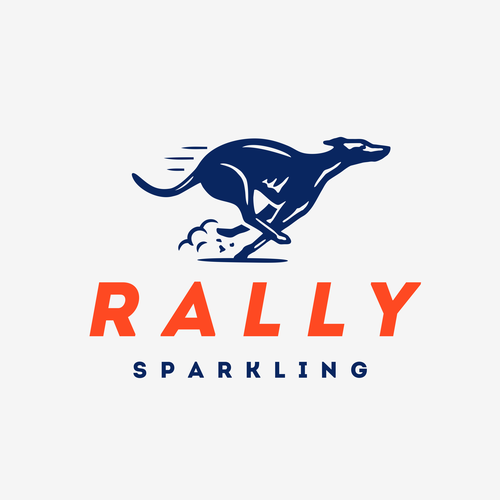 Race design with the title 'Logo for Rally Sparkling'