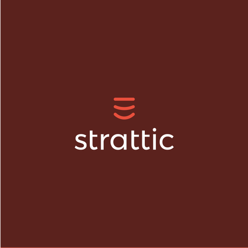 Speedometer logo with the title 'Friendly tech logo for website optimization platform: Strattic'
