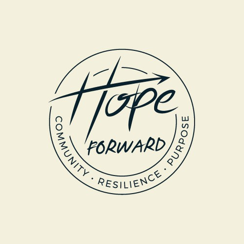 Hope design with the title 'Logo Design for Hope Forward'