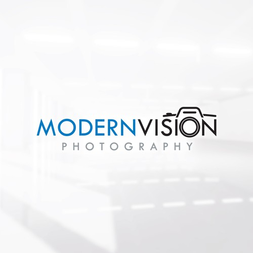Photography logo with the title 'Modern logo for a Photography Business'