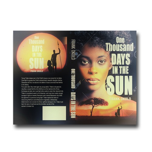 Hunter design with the title 'One Thousand Days in The Sun'