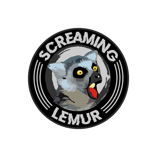 Disk logo with the title 'Screaming Lemur'