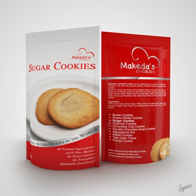 Packaging Design for Cookies Products