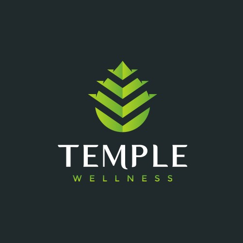 Temple logo with the title 'Bold modern logo for Temple Wellness'