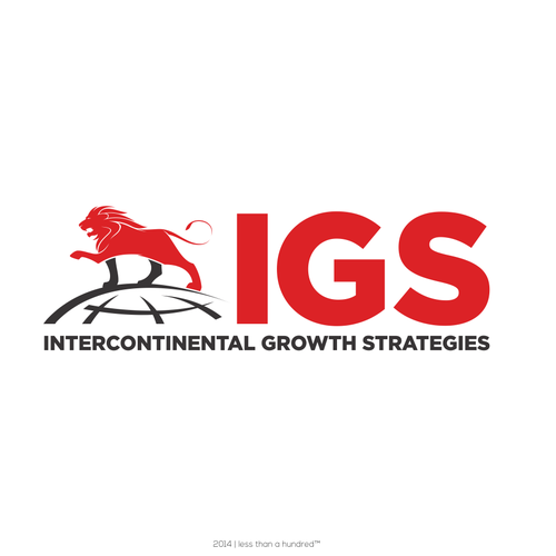 Trading logo with the title 'IGS Logo Design'