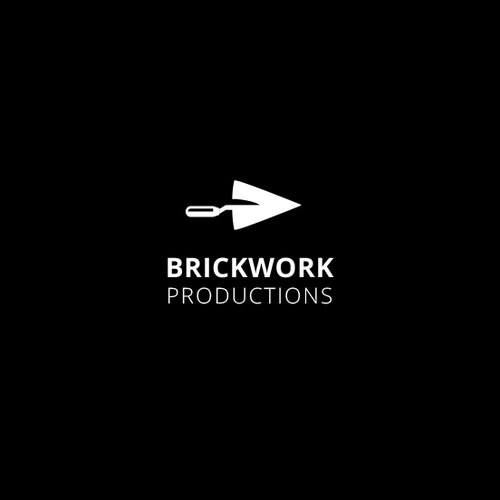 Production company logo with the title 'logo for Brickwork Productions'