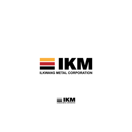 Korea logo with the title 'IKM'