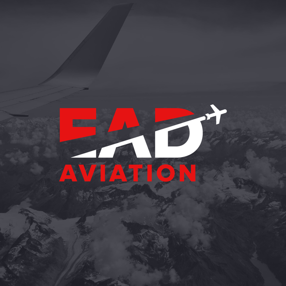 Airline design with the title 'EAD Logo'